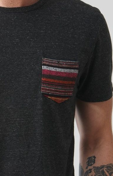 I like theese t shirts with the cool pocket designs.