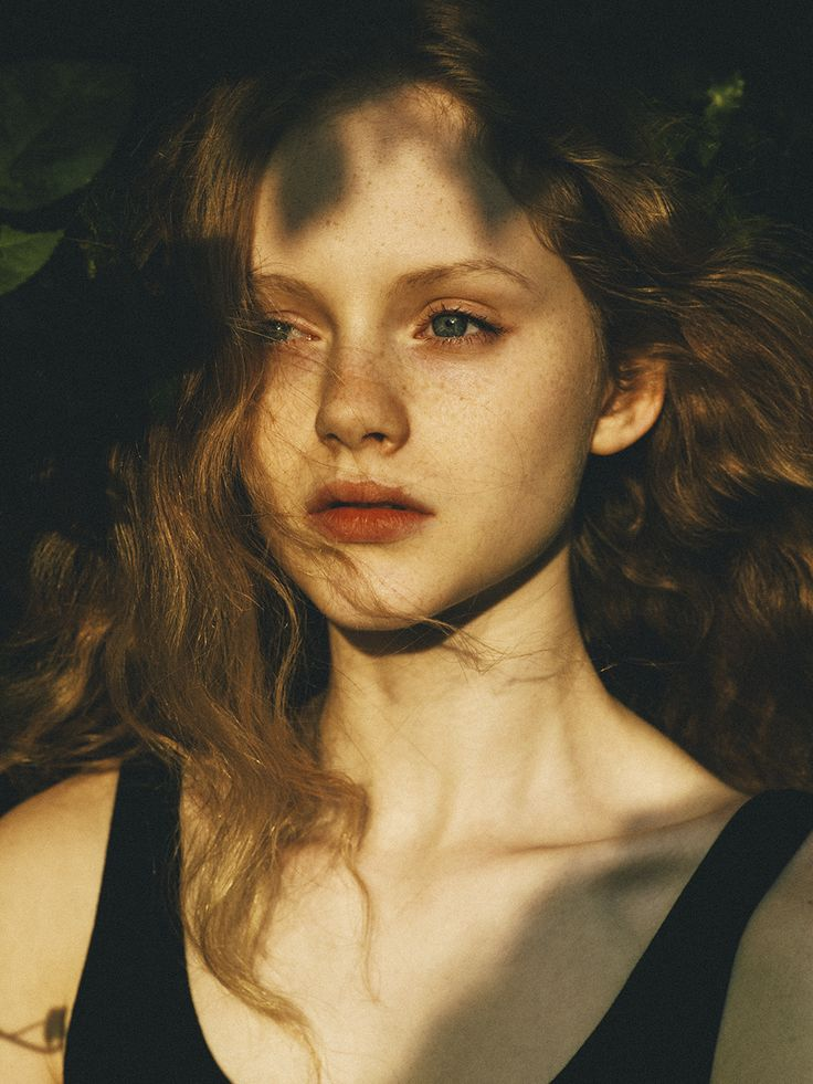 Selina Dawes at the age of fifteen (image: photography by chloe le drezen Stunning Emma Laird @ Models 1)