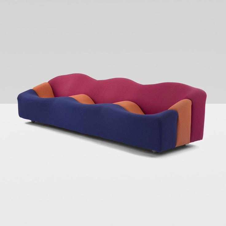 les 160 meilleures images du tableau pierre paulin sur pinterest canap s chaises longues et. Black Bedroom Furniture Sets. Home Design Ideas