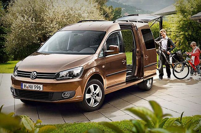 Volkswagen Caddy Maxi *7 Seater* for Rent at  Rental Center Crete