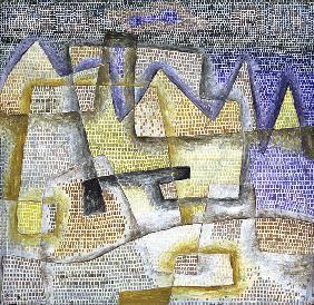 Paul Klee - 'Rocky Coast'