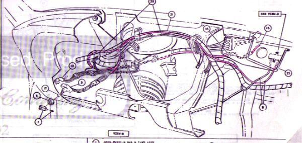 1966 Mustang Fastback Back Seat Wiring Diagram