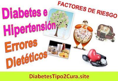 Diabetes e Hipertensión en Adultos Mayores: Dieta y Alimentos para Evitarlos Este artículo sobre Diabetes e Hipertensión será de interes para los diabéticos del tipo 2, y para personas diabéticas tipo1. Sufrir Diabetes e Hipertensión pone en riesgo tu salud cerebral.