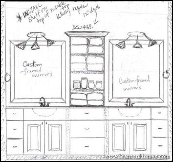 Custom Bathroom Vanities Plans 25+ best open bathroom vanity ideas on pinterest | farmhouse