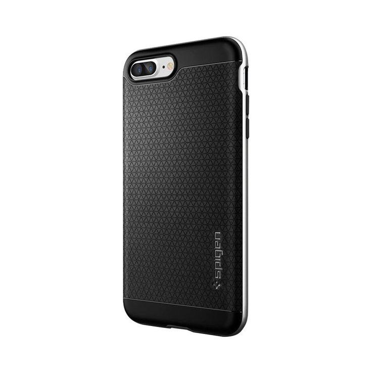 Spigen - Neo Hybrid Case for Apple® iPhone® 7 Plus - Satin silver