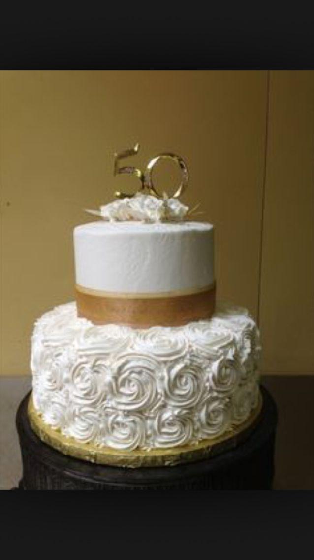 50th Anniversary Cake/Molly's favorite