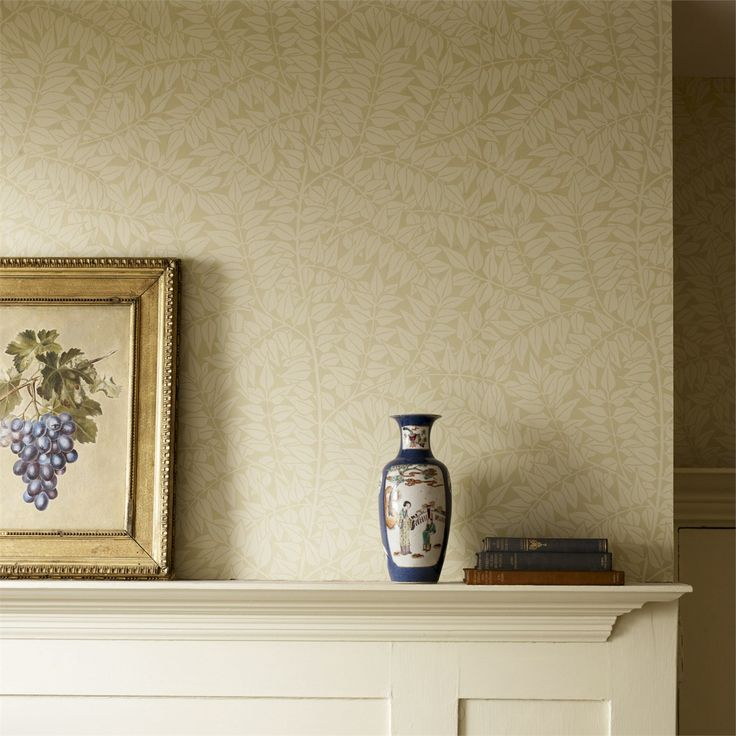 Branch by William Morris is the perfect backdrop for the other designs in the Morris & Co Archive Wallpapers Collection: http://www.britishwallpapers.co.uk/william-morris-archive-wallpapers/