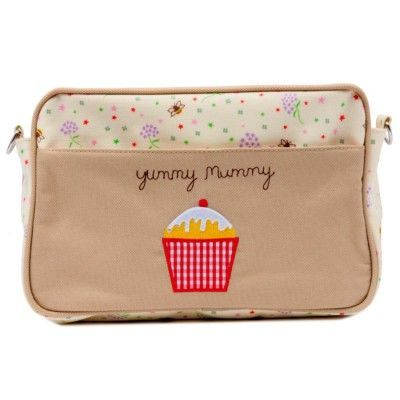 Pink Lining Τσαντάκι Αλλαγής Mini Yummy Mummy Bag - Bubble Bees and Stardust - Sunnyside