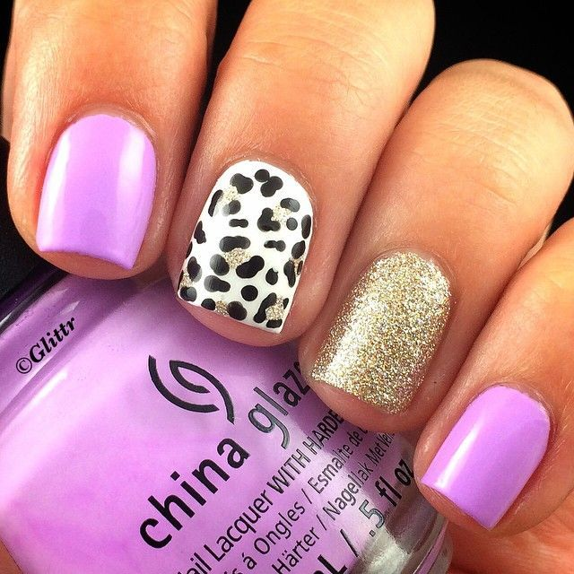 4614 best nail art images on pinterest nail designs hairstyles nail artists you should know cute leopard print nails by glittr prinsesfo Choice Image