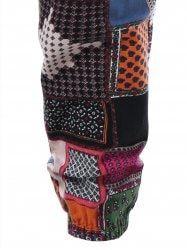 Tribal Print Drawstring Waist Pants - COLORMIX L Mobile