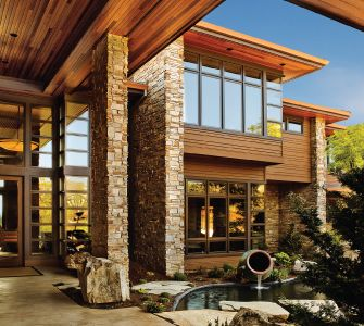 : Dreams Home, Modern Cabins, Modern Rustic, Marvin Window, Michael Barclay, Photo Galleries, Rustic Modern, Glasses House, Architects Challenges