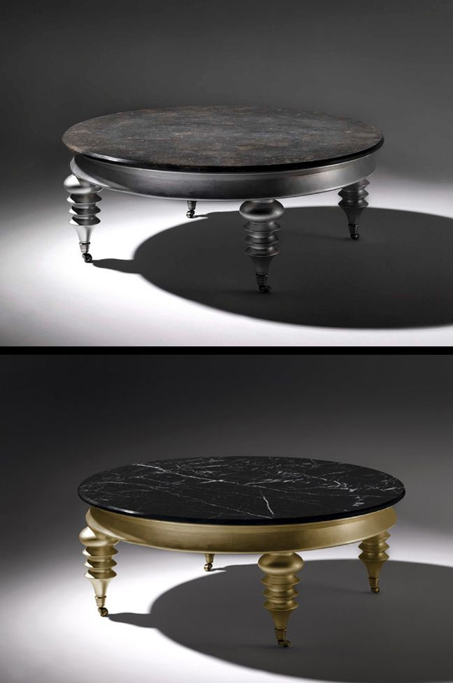 The Felipe Marble Coffee Table is a delightful piece that is equally a contemporary Coffee table as it is a traditional coffee table. #marble #coffee #table