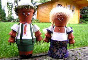 The Dashing Bayern Couple Seppl and Gretel