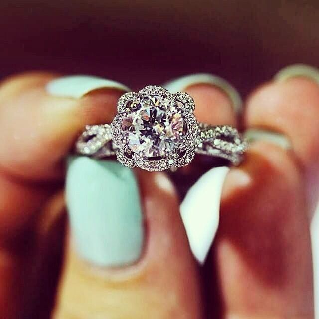 Wow, this is the prettiest ring, future husband!