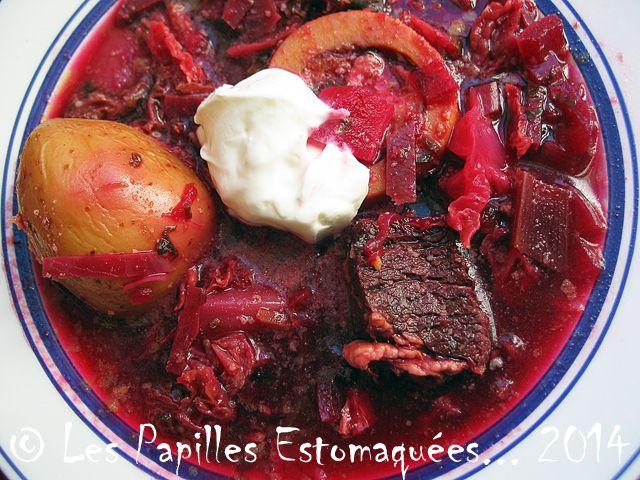 Borsch Une soupe repas ukrainienne   Les Papilles Estomaquées...Les Papilles Estomaquées…