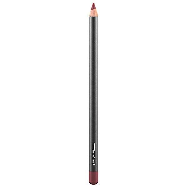 MAC Lip Pencil (61 ILS) ❤ liked on Polyvore featuring beauty products, makeup, lip makeup, lip pencils, mac cosmetics and lip pencil