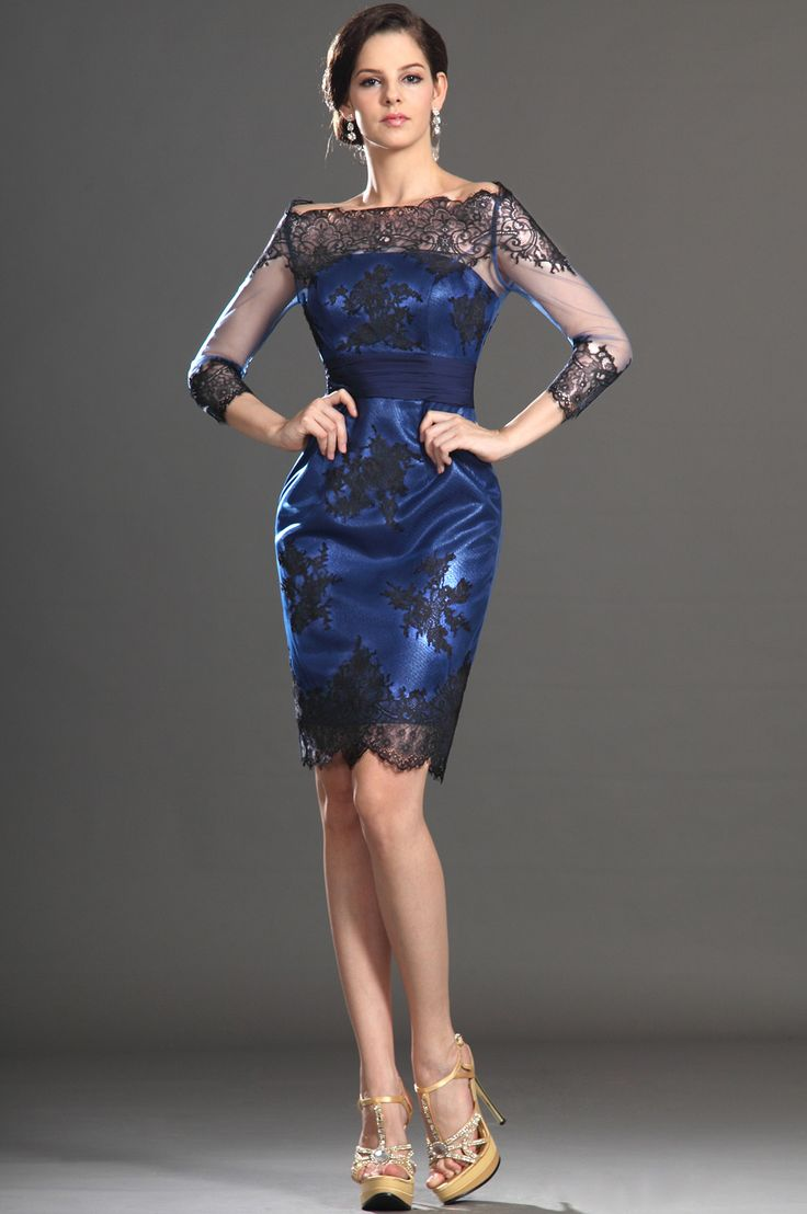 eDressit 2013 New Off Shoulder Black Lace Mother of the Bride Dress