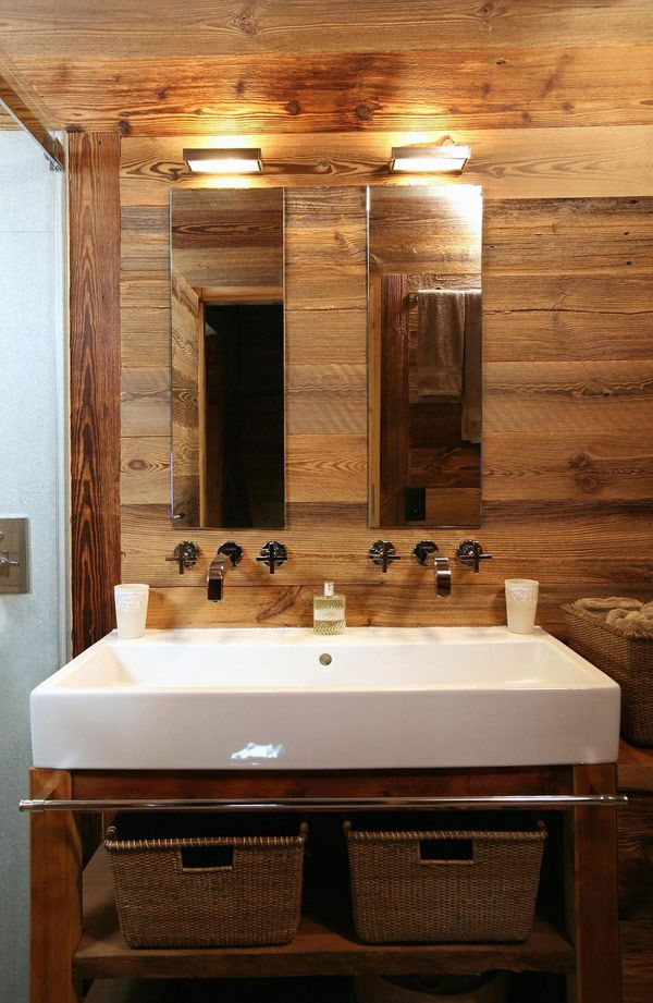 Salle de bain home made