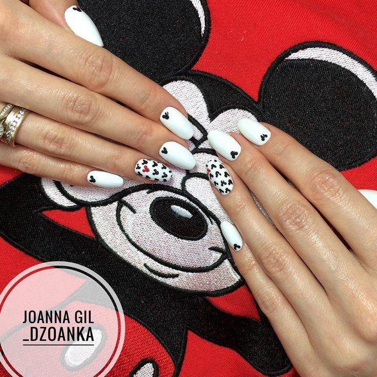 Mickey Mouse ❤️ @indigonails #indigo #indigolove #indigonails #indigolicious #nails #nailart #nailholic #nailstyle #nailartist #f4f…