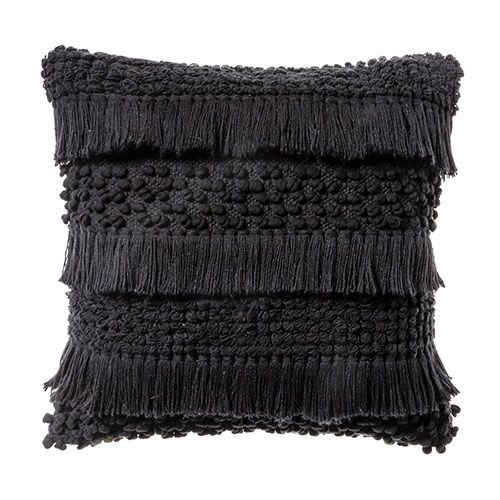 Axel Black Cushion