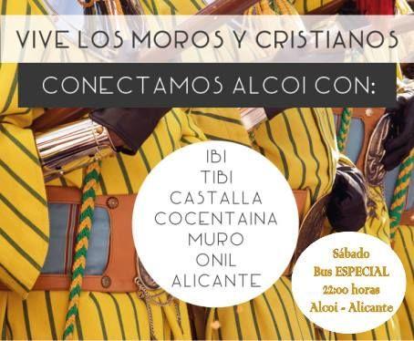 Moros y Cristianos de Alcoi. Alicante. España.