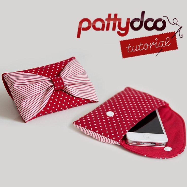 Patron Pochette téléphone pattydoo