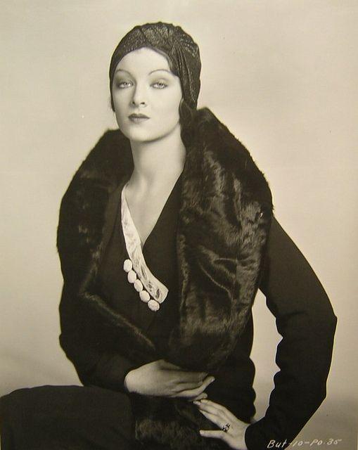 1920s #vintage #fashion #style of Myrna Loy