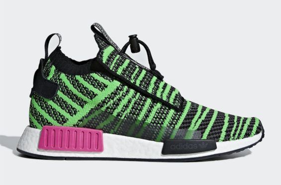 96a246943c1 Release Date  adidas NMD TS1 Primeknit Shock Lime The adidas NMD TS1 is the  latest