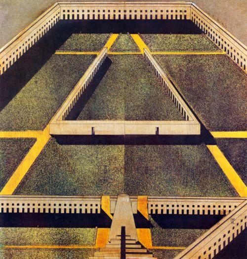 Aldo Rossi, The Labyrinth, 1972