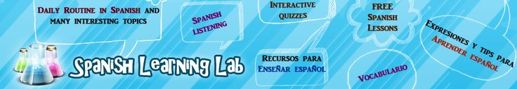 Spanish Learning Lab: Learn Spanish with free, communicative lessons. Iffy to bad lessons, but includes lots of basic audio said by native speakers.