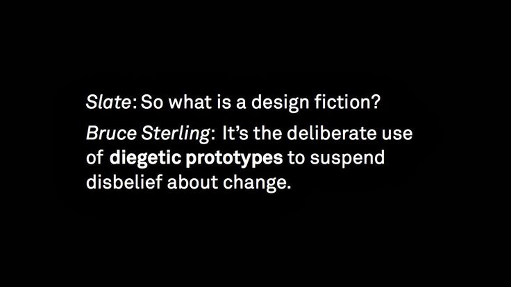 Occasional blog of Tobias Revell: Critical Design / Design Fiction lecture finally written up. (loooooong)
