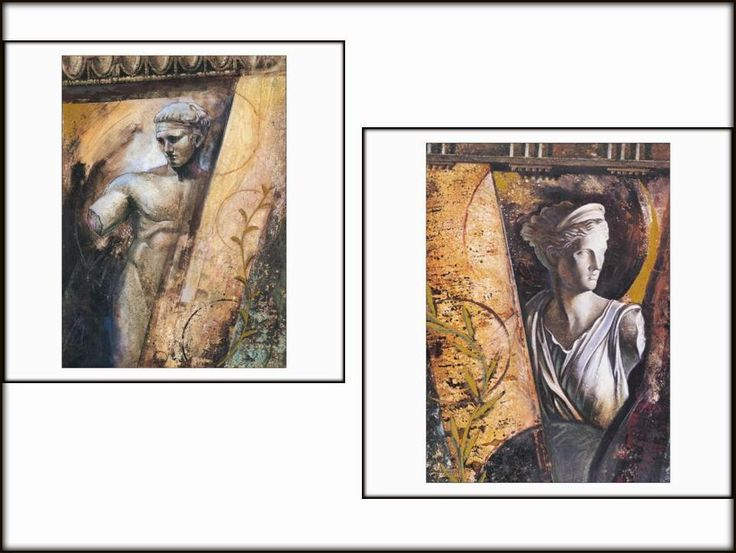Wall Art Posters #AncientGreece Series Set of 2 Artemis and #Olympic Winner  #Unbranded #AncientGreeceSeries