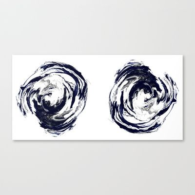 Mind Pools Stretched Canvas by Lucy Claire Nash - $85.00