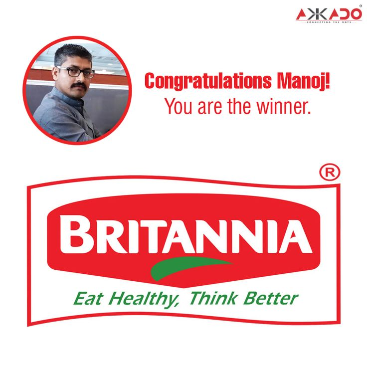 Congratulations Manoj! You have guessed it right. The image is a part of the #logo of #Britannia Industries Limited, one of the leading brands serving the Indian consumer with a range of fresh, nutritious and flavour-rich products.   #Akkado #ConnectingTheDots #PuzzleAnswer #PuzzleWinner #GuessTheLogo