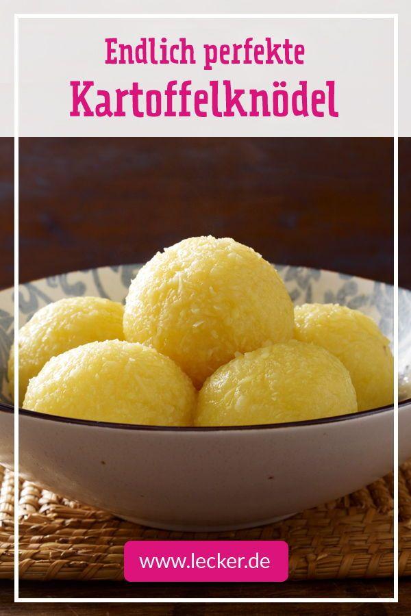 Kartoffelknödel selber machen – so geht's  – Kartoffel-Rezepte – tolle Knolle!