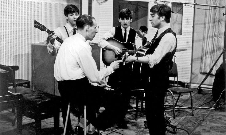 Ringo Starr announces death of revered producer George Martin, 'the fifth Beatle', who signed the band to Parlophone and collaborated on almost all of their records George Martin dies – tributes