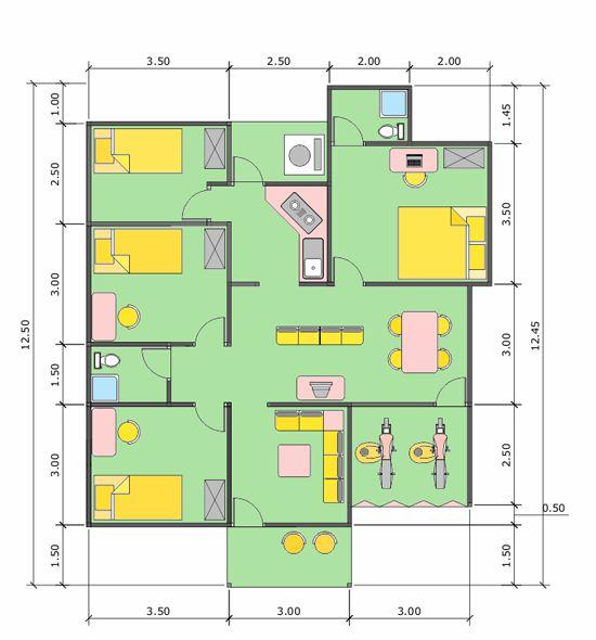 Rumah Minimalis 2 Lantai adalah salah satu trend desain yang sangat menjadi.  sumber : http://crj-design.blogspot.com/