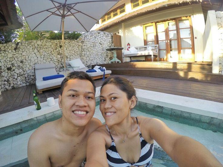 Our honeymoon..