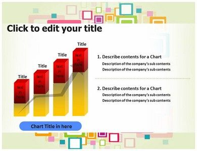 83 best powerpoint templates images on pinterest templates role colorful squares powerpoint toneelgroepblik Gallery