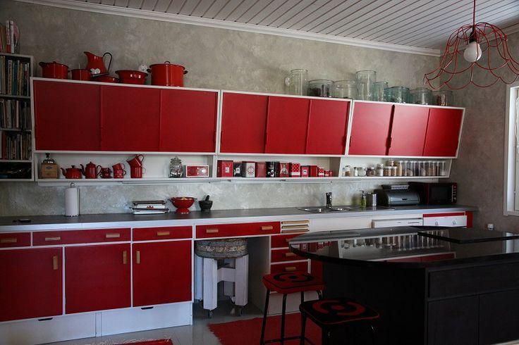 17 Best images about Keittiö 50 luku on Pinterest  Beige kitchen, Studios an