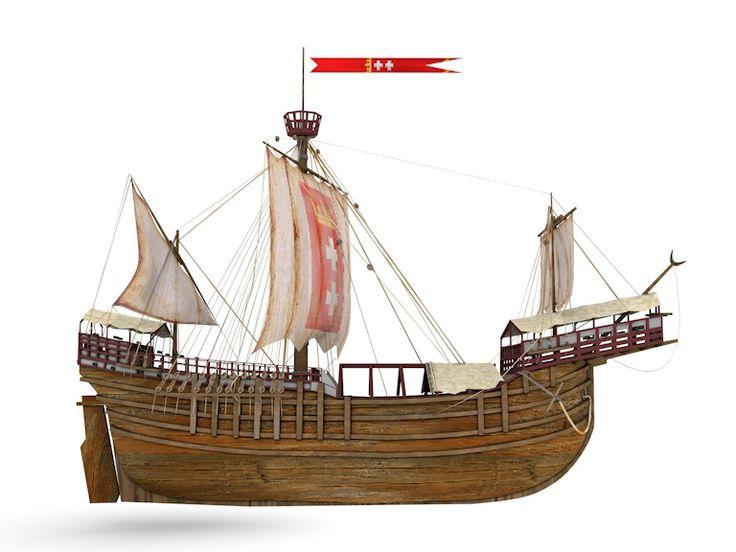 The Carrack (Kraweel) Peter von Danzig. Arrived in Danzig: 1462 Scrapped 1478…