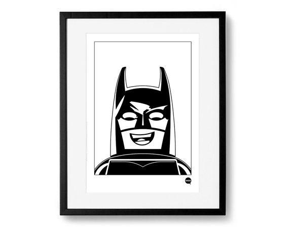 Plakat A3 - Lego Batman - DrawGeek - Wydruki i plakaty