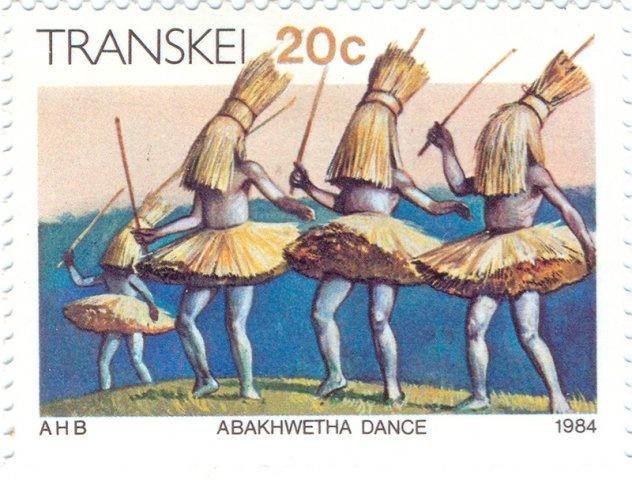 1984 Transkei -  Abakhwetha dance of the Xhosa tribe