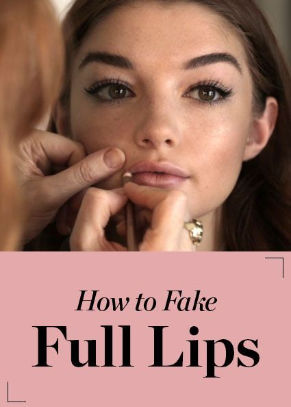 Makeup artist Charlotte Tilbury shares how to fake full lips (using only the power of makeup!)