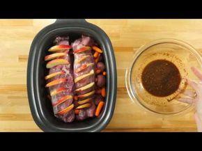 Cette façon de cuisiner vos filets de porc à la mijoteuse est tout à fait exceptionnelle... - Ma Fourchette