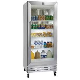 Glass Front Refrigerator   Would Love To Have A Small One For Beverages And  Water.