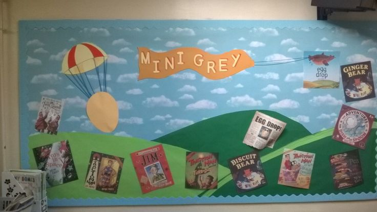 Mini Grey library focus board