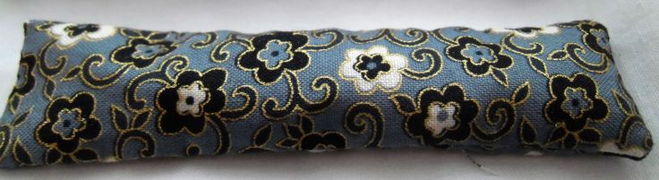 Floral Pattern Print Seat Pad in Grey Black & Gold 1/12th Scale by WHBMINIATURES on Etsy
