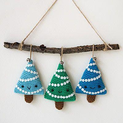 25 unique Crochet christmas trees ideas on Pinterest  Crochet