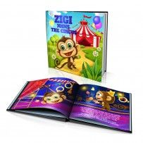 "Personalised Hard Cover Story Book:     ""Join the Circus"" / Dinkleboo"